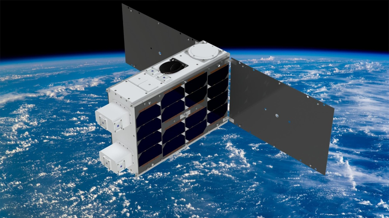 Künstlerische Darstellung des 6U CubeSats EIVE