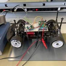 Test bench for the student constructed inverters
